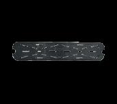 Thunder Group PLPA7120LDSBK - Food Pan Drain Tray, 1/2 Size Long, Polycarbonate