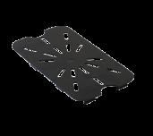 Thunder Group PLPA7140DSBK - Drain Shelf, 1/4 Size, Scratch Resistant