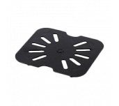Thunder Group PLPA7160DSBK - Drain Shelf, 1/6 Size, Scratch Resistant