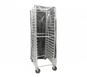 Thunder Group PLPRC020 - Pan Rack Cover, For 20 Tier, Clear