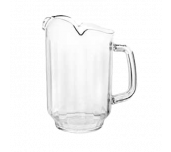 Thunder Group PLWP064CL - Water Pitcher, 64 Oz., Three Spout