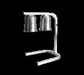 Thunder Group SEJ90000 - Dual Heat Lamp, 23
