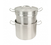 Thunder Group SLDB016 - Double Boiler, 16 Quart, With Cover