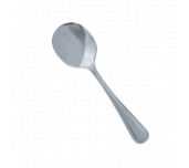 "Thunder Group SLGD003 - Bouillon Spoon, 5.91"", 18/0 Stainless Steel"