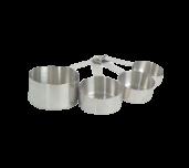 Thunder Group SLMC2414 - Measuring Cup Set, 4 Measure Sizes Per Set: 1/4 Cup, 1/3 Cup
