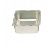 "Thunder Group STPA6124 - Steam Table Pan, 1/2 Size, 4"" Deep"