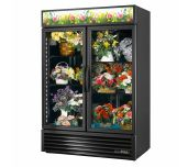 True Mfg. - General Foodservice GDM-49FC-HC~TSL01 - Floral Merchandiser, Two-section