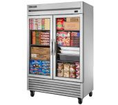True Mfg. - General Foodservice T-49FG-HC~FGD01 - Freezer, Reach-in, Two-section