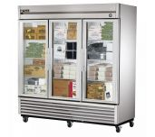 True Mfg. - General Foodservice T-72FG-HC~FGD01 - Freezer, Reach-in, Three-section