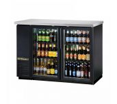 True Mfg. - General Foodservice TBB-24-48G-HC-LD - Back Bar Cooler, Two-section, 49-1/8