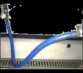 "Vulcan 3/4QD HOSE-4 - 3/4"" X 4' Long Gas Flex Hose & Quick Disconnect With Restraining Device"