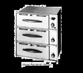 Wells RW-36HD - Heavy Duty Food Warming Drawer Unit, Built-in, Three Drawers