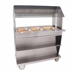 Electric Hot Food Serving Counter