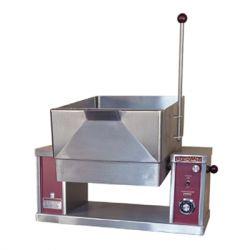 Electric Countertop Tilting Skillet Braising Pan