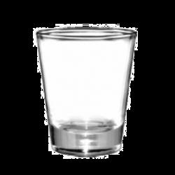 Glass, Shot & Whiskey