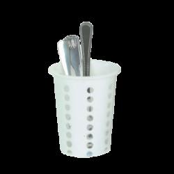 Cylinder & Insert Flatware Holder