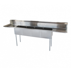 (4) Four Compartment Sink