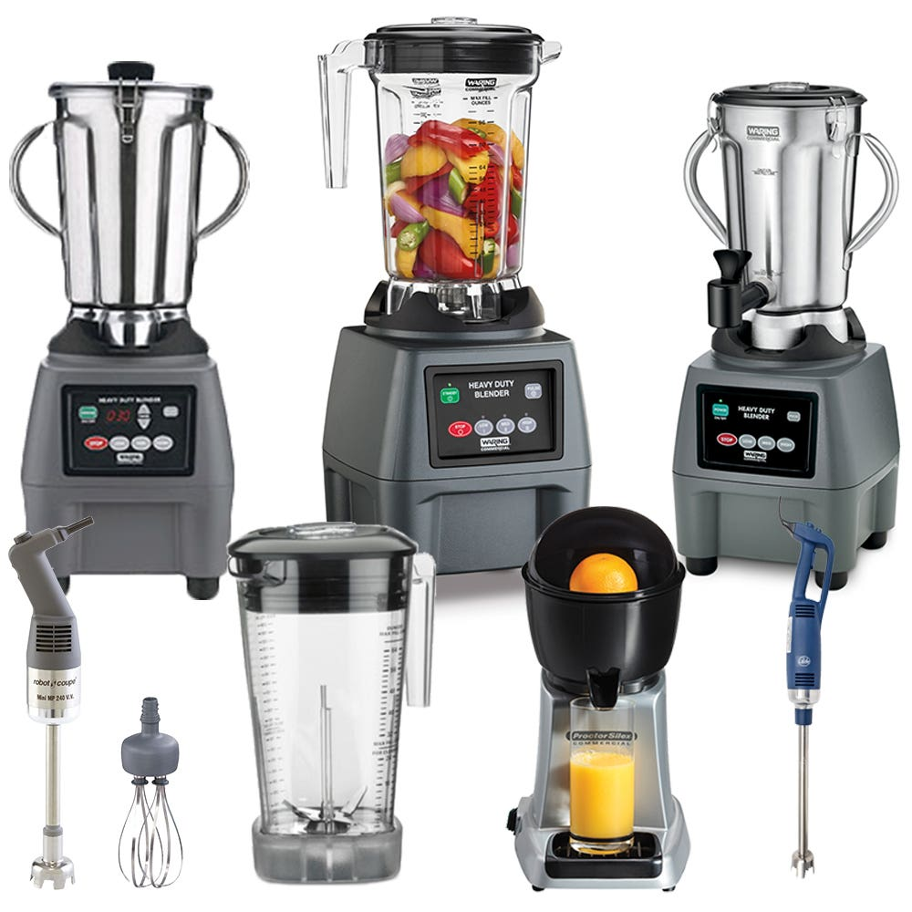 Small Electrics (blenders, food processors, mixers...)