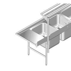 Cantilever Type Table-Mounted Overshelf
