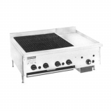 Countertop Gas Griddle & Charbroiler