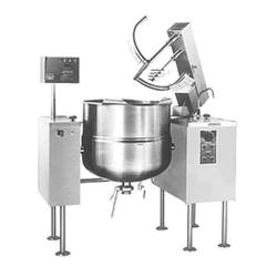 Direct-Steam Kettle Mixer