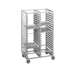 Double & Triple Mobile Tray Rack