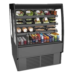 Dual Serve Refrigerated Display Case