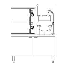 Electric Steamer Kettle Combination