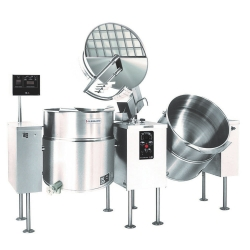 Electric Twin Unit Kettle Mixer