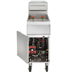 Full Pot Floor Model Gas Fryer