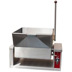 Gas Countertop Tilting Skillet Braising Pan