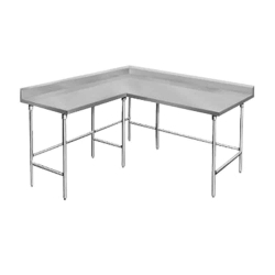 L-Shaped Work Table