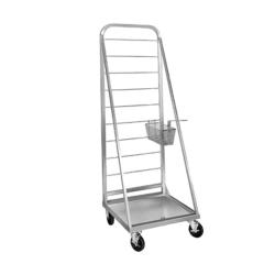 Mobile Fryer Basket Rack