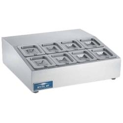 Refrigerated Countertop Pan Rail