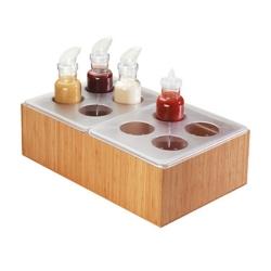 Salad Dressing Dispenser Set