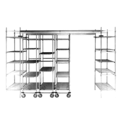 Track Shelving Section