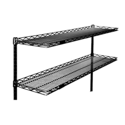 Wire Cantilevered Shelving