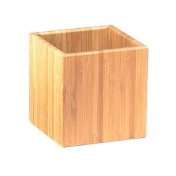 Wood Storage Jar & Ingredient Canister